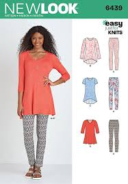 Tunic Sewing Pattern Fascinating Misses Knit Tunics With Leggings New Look Sewing Pattern 48 Sew