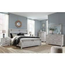 Brashland White Panel Bedroom Set from Ashley | Coleman Furniture