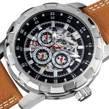 akribos xxiv men s ak557br premier automatic multi function akribos xxiv men s ak557br premier automatic multi function leather strap watch