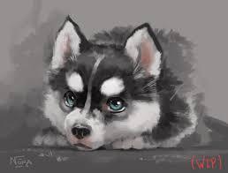 cute baby husky tumblr. Perfect Cute EDIT Httpsyoutubeta0Wff54POc Speedpaint With Cute Baby Husky Tumblr