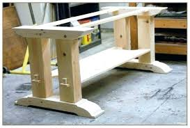 how to build a table base medium size of dining table base for glass top ideas