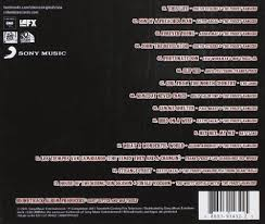 Cd Song List Various Artists Songs Of Anarchy Music From Sons Of Anarchy