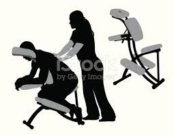 chair massage drawing. massage therapist vector silhouette stock art 165556657 | istock chair drawing