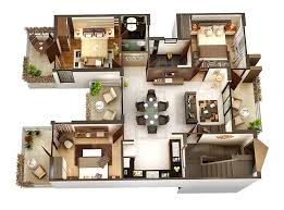 Modern Apartment Design Simple 48 Bedroom ApartmentHouse Plans
