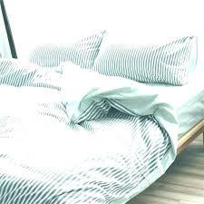 ticking bedding ticking stripe ruffled bedspread black