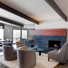 mid century modern fireplace mantel attractive 15 ideas for decorating your year round s throughout 23