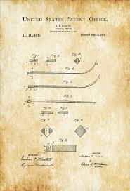 surgical instrument patent 1902 doctor office decor. Surgical Needle Patent Print \u2013 Medical Art, Doctor Office Decor . Instrument 1902 N