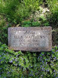 Ella Playford Matthews (1860-1938) - Find A Grave Memorial