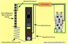 ground fault breaker wiring diagram how to wire a gfci breaker for 240 Volt Gfci Breaker Diagram i recently lost power to my garage (attached) and my bathroom ground fault breaker 240 volt gfci breaker wiring diagram