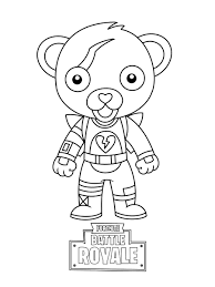Fortnite Skull Trooper Page Coloring Pages Ballersinfo Com