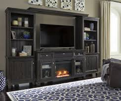 wood entertainment center with fireplace townser media entertainment center w fireplace option central on we wood