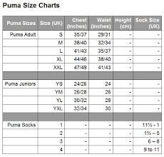 Buy Puma Soccer Jersey Size Chart 58 Off Share Discount
