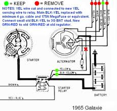 ford 1 wire alternator diagram ford wiring diagrams online