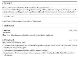 Interesting What Are Some Free Resume Builder Sites Luxurious And