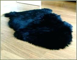 ikea sheepskin rug black fur rug ikea faux sheepskin rug cleaning