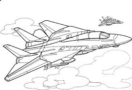 airplanes coloring pages fighter jet page airplane planes plane army