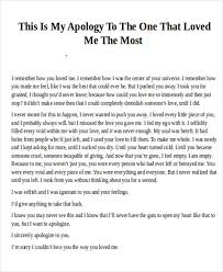 Apology Love Letter to Girlfriend1