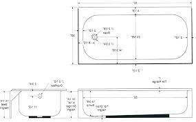 standard how wide is a bathtub double bathtubs tub depth dimensions sizes kitchen bath size bathroom