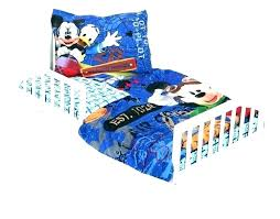 mickey mouse clubhouse toddler bedding set mickey mouse toddler bedding set for
