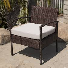 Sofa Armrest Table 3pc Rattan Wicker Bistro Sofa Set Coffee Table Chair Outdoor Patio