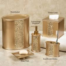Glamorous Crystal Bathroom Accessories Sets Pictures Best