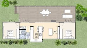 our noosa floor plan is designed to suit sites that are able to accommodate a long and slender footprint depending on the site configuration the noosa can