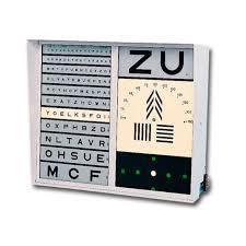 Eye Chart Machine Illuminated Eye Chart Ella Legros