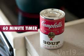 Minute Timers Campbells Soup 60 Minute Kitchen Timer