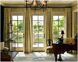 sliding glass door covering ideas creative and innovative patio door window treatment ideas french with curtain