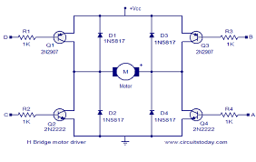 what are some good motor driver for diy? quora PWM H-bridge Circuit note the pictures are not my own, i picked them off of google image search