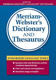 merriam webster s dictionary and thesaurus by anonymous 9685254