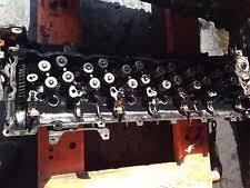 car truck air intake fuel delivery for isuzu genuine oem 2005 isuzu 6hk1x engine cylinder head