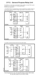 entryphone wiring diagrams entryphone general purpose relay wirring