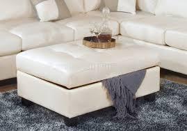 bonded leather modern sectional sofa wstorage ottoman white coffee table a9f53a3cfb6dfa3efe7340c5fef