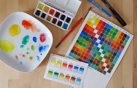 Watercolor Chart Winsor Newton