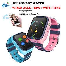 Đồng hồ thông minh kết nối 4G hỗ trợ gọi video dành cho trẻ em A36E  Smartwatch