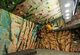 bouldering wall indoor on existing support  on artificial rock climbing wall in pune with xlimitz