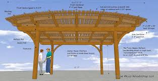 curved patio cover plan