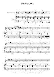 Free Recorder Sheet Music Lessons Resources 8notes Com