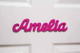 personalised names wooden name plaques door sign bedroom door letters 91