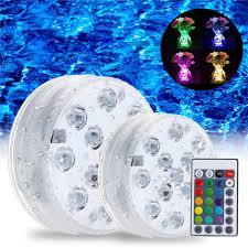 Multi Color Pool Light Swimming Pool Light Led Underwater Remote Rgb Control Multi Color Fountain Light
