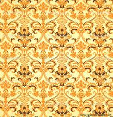 seamless vintage wallpaper pattern orange. Interesting Seamless View Original Size 13387532 Seamless Pattern With Inside Seamless Vintage Wallpaper Pattern Orange P