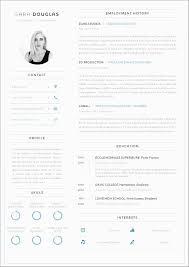 Modern Curriculum Vitae Template Free Luxury Free Professional