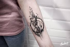 татуировка на предплечье у девушки лиса фото рисунки эскизы