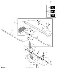 John deere parts diagrams john deere power flow blower assembly 46