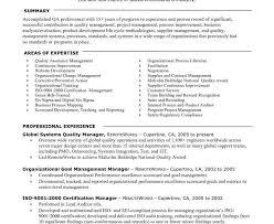 Qa Manager Resume Sample Test Manager Resume Sample Cool Writing