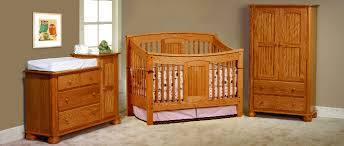 solid wood nursery furniture. Amish Baby Cribs Made In USA Solid Wood Children S Furniture Eco Trends 4 Nursery P