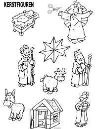 Kleurplaten Kerststal Maken Cre8tive Hands Nativity Kleurplatenlcom