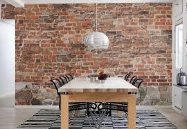 Brick Paneling Indoor Wall Inside House Creative Chalkboard .