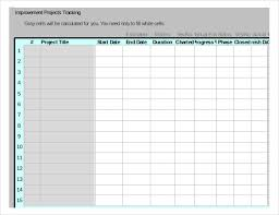 10 Project Tracking Templates Free Sample Example Format